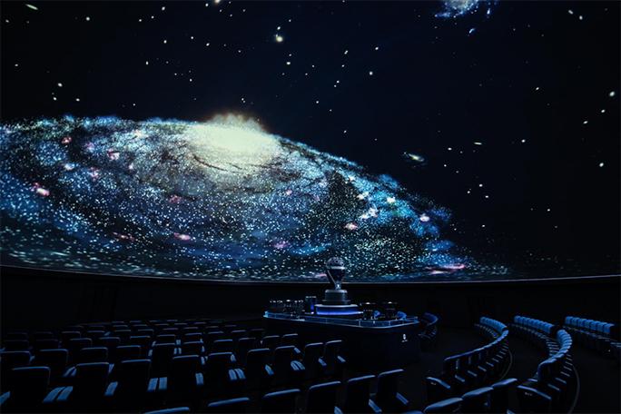 福岡市科学館 ドームシアターの写真